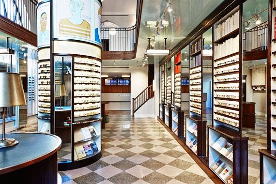 warby parker opens third nyc store real estate weekly