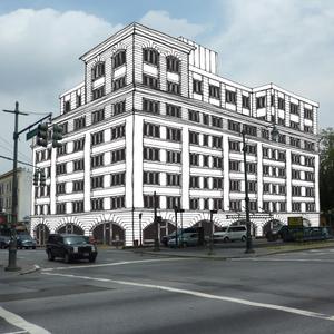 Rendering of 341 Eastern Parkway