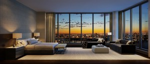 Lavish-bedroom-of-the-residence-at-One-Riverside-Park-with-New-York-City-view