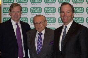 James Nelson, Larry Silverstein and Paul Massey