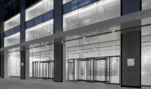 Neuberger Berman will get extensive branding and and its own lobby.