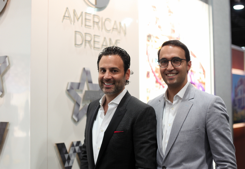 American Dream Coming True At Big Vegas Convention Real