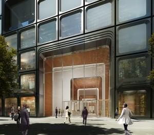 55 Hudson Yards lobby