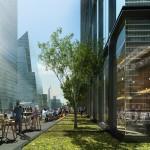 55 Hudson Square terrace