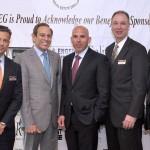 Scott Rechler (middle) alongside LIREG board members.