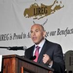 Scott Rechler addresses the LIREG on Wednesday June, 18th.