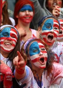 US soccer fans in Brazil. Photo via Flickr