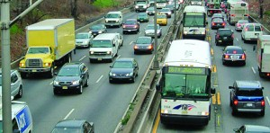 It is estimated that some 86,000 residents commute to Manhattan through the Lincoln Tunnel from Bergen and Passaic counties in New Jersey alone.