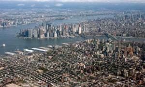 Aerial view of Brooklyn