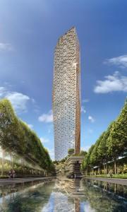 Trump Tower Mumbai rendering.