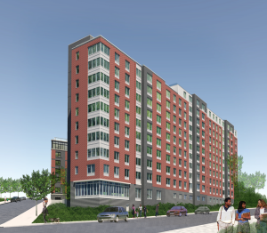 Highbridge Overlook, a 155-unit mixed-income affordable rental housing development in the Highbridge section of the Bronx