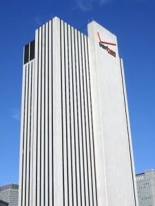 The Verizon Building in downtown Manhattan