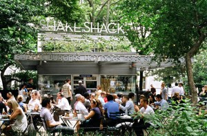 The Shake Shack started in Madison Square Park.
