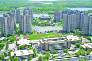 Co-op City has over 15,000 apartments, its own power station and jail.