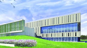 Memorial Sloan Kettering converted a former Verizon research building in West Harrison into a $130 million outpatient cancer center.