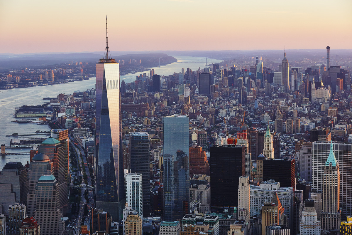 New leases were being signed as the first tenants moved into One World Trade Center.