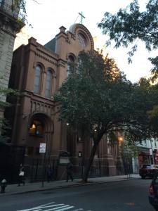St Stephen Church on East 28th Street
