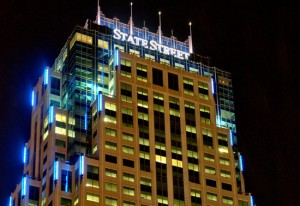 The State Street financial tower