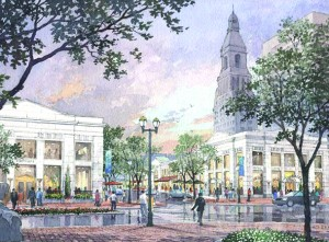 The 150,000 s/f, mixed-use project is being developed by the HB Nitkin Group.