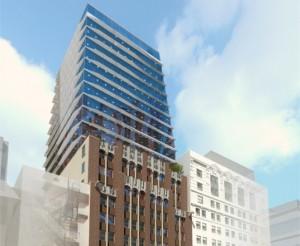Rendering of Prodigy Network's 17 John Street in Lower Manhattan.