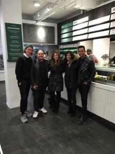 From left to right: Nathaniel Ru, Nicolas Jammet, Taryn Brandes (SCG), Jacqueline Klinger (SCG) and Jonathan Neman