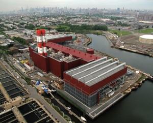 The Astoria power plant