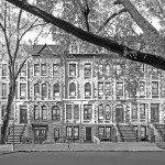 The Columbia school townhouses are now connected
