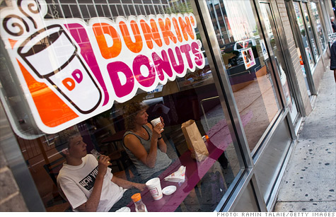 Dunkin Donuts has 536 locations in NYC.