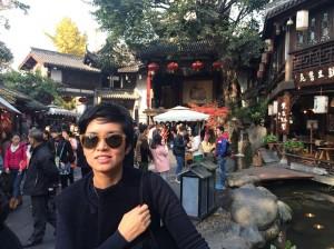 Hannah Han in China