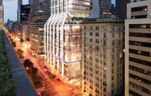 425 Park rendering by DBOX for Foster + Partners