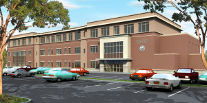Rendering of the Bergen County Special Services School