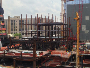 Construction of Hudson Yards Retail Center - Photo Credit Geoff Butler