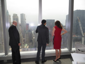 Lo Russo and Stacom saiid it was more than just the views that attracted the firm to 1WTC