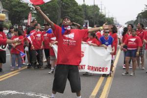 A Puerto Rican Day parade in NYC. Photo via Flickr