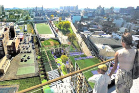 Via Verde/The Green Way in the Bronx is a trendsetting example of affordable green development.