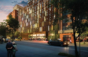 Hotel renderings by Marvel Architects