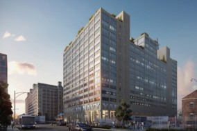 Rendering of Building 77 at the Brooklyn Navy Yard