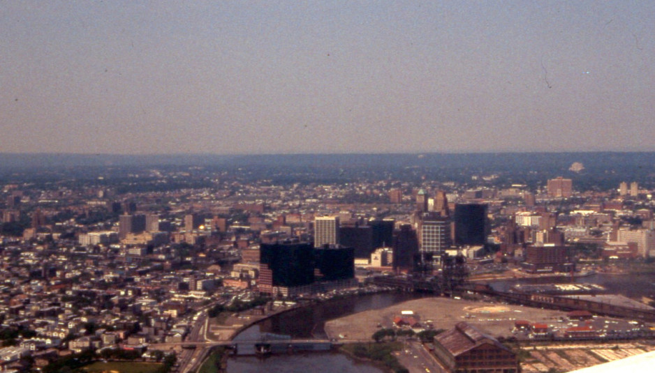 Aerial view of Newark, New Jersey. Photo by David Wilson/ Flickr