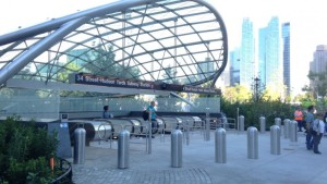 The new No. 7 subway extension through Hudson Yards