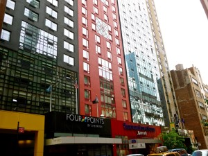 40th Street in New York City has seen a proliferation of hotel development