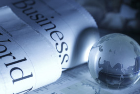 Global Business and Finance with Newspaper