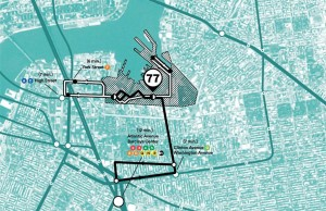 The new shuttle service will run in two loops to and from the complex.