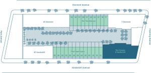 Diagram of the Navy Green development
