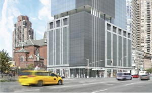 555 10th Avenue rendering