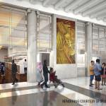 Rendering of Bronx post office