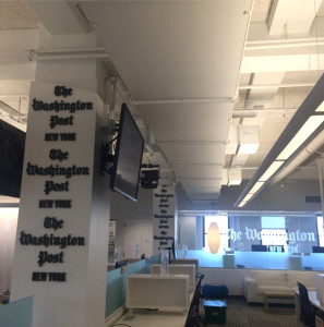 The Post's new office. Photo via Washington Post