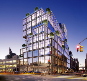 61 Ninth rendering by Raphael Vinoly Architects.