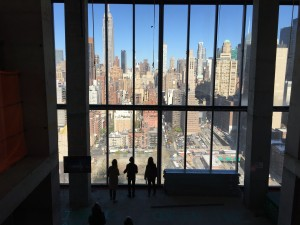 Views from the skybridge. Photo by Holly Dutton