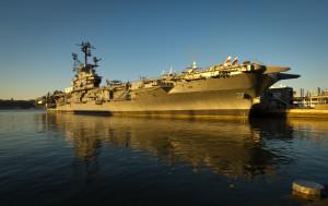 USS Intrepid a Photo Credit: NASA/Bill Ingalls