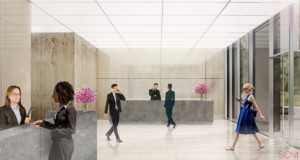 41 Madison Avenue lobby rendering by SOM